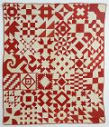 Sampler Friendship Quilt Dated 1913