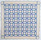 Garden Maze Quilt: Circa 1920; Pennsylvania