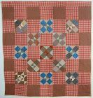 Shoo Fly Quilt: Circa 1880's