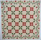 Original Applique Quilt with Oakleaves: Circa 1860; Pennsylvania