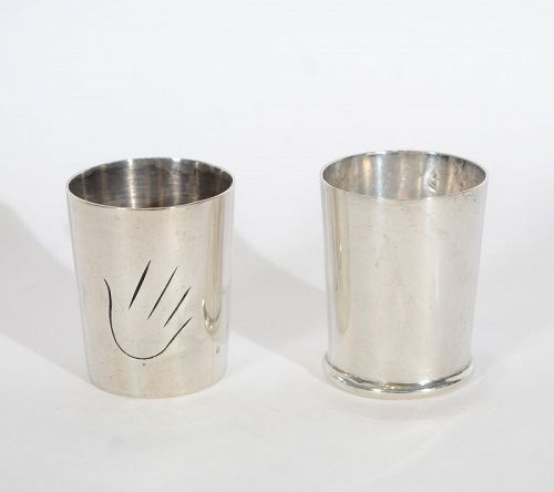 William Spratling Sterling Silver Shot Glasses