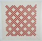 Pair of Irish Chain Quilts; Circa 1900; Pennsylvania