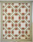 New York Beauty Quilt: Circa 1860; Tennessee