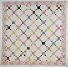 Puss in the Corner Quilt: Circa 1850; Pennsylvania