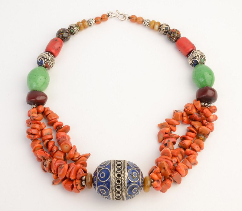 Moroccan Berber Bead Necklace