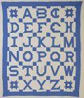 Alphabeth Quilt: Circa 1920; Pennsylvania