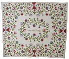 Original Pattern Quilt Signed and Dated 1850; New York