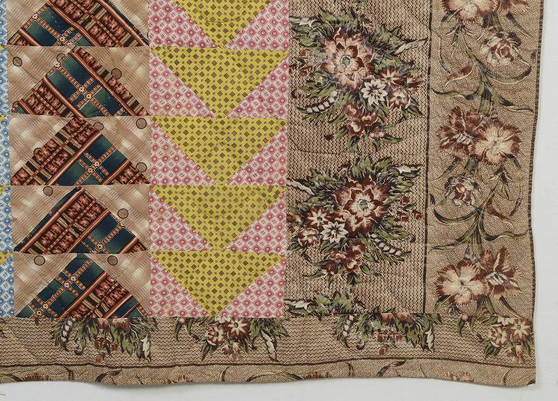 Flying Gees Quilt: Circa 1850; Pennsylvania