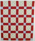 Original Pattern Octagons Quilt: Circa 1900; Pennsylvania