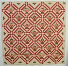 Baskets Quilt: Circa 1880; Ohio