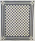 LeMoyne Stars Quilt: Circa 1870;New York
