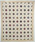 LeMoyne Stars Quilt:Circa 1850; New York State