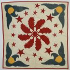 Princess Feather and Eagles Summer Spread Quilt: Circa 1890; Pa.