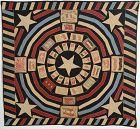 Patriotic Tobacco Flannels Quilt: Circa 1910; Pennsylvania