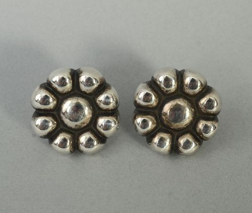 Linda Lee Johnson Sterling Silver Earrings