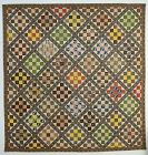 Album Patch Quilt: Circa 1850; Yardley, Pennsylvania