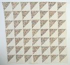 Birds in the Air Quilt: Dated 1887; Ohio