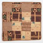Reversible One Patch Doll Quilt: Circa 1850