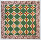 Blazing Star Quilt: Circa 1860; Pennsylvania