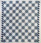 Octagons Quilt: Circa 1850; Virginia