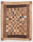 One Patch Doll Quilt: Circa 1830