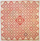 Inscribed  and Dated 1845 Wedding Quilt; New Jersey
