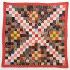 One Patch  Crib Quilt: Circa 1880; Pennsylvania