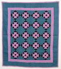 Amish Hole in the Barn Door Crib Quilt: Circa 1920; Indiana
