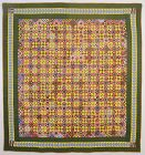Economy Patch Quilt; Circa 1880;Pennsylvania