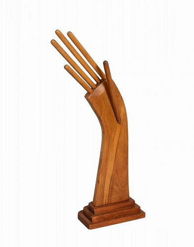 Folk Art Wood Hand