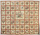 Broderie Perse Album Quilt: Circa 1845; Baltimore, Maryland