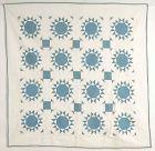 Wheel of Fortune Antique Quilt: Circa 1920; Pennsylvania