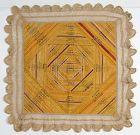 Cigar Silks Table Mat: Circa 1890; Pennsylvania