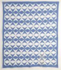 Mill and Stars Quilt: Circa 1920