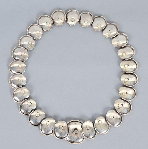 Hector Aguilar Silver Armadillo Necklace