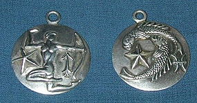 Margot de Taxco Silver Astrology  Pendants