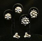 William Spratling Sterling Silver Earrings