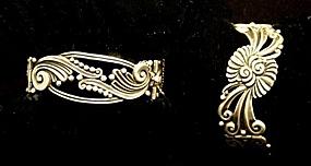 Margot de Taxco Sterling Bracelets