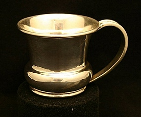 Hector Aguilar Sterling Silver Baby Cup