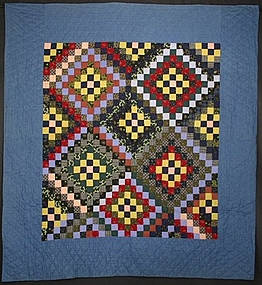 Philadelphia Pavement Quilt: Circa 1890; Pennsylvania