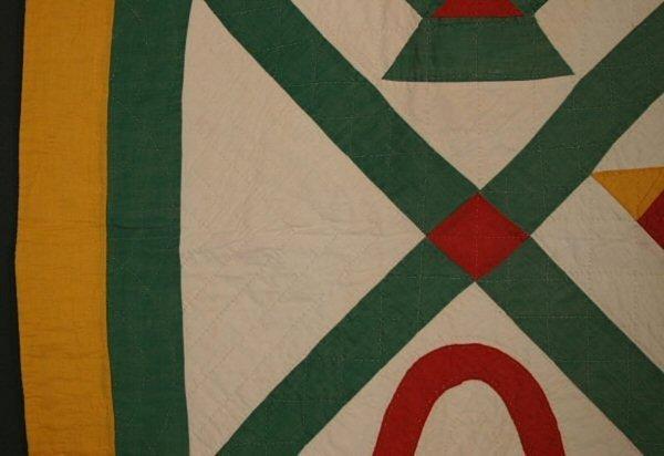 Baskets Quilt: Circa 1900; Pennsylvania