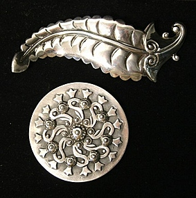 Los Castillo Sterling Silver Brooches