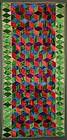 Tumbling Blocks Daybed Quilt: Circa 1920; Pennsylvania
