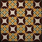 Double Nine Patch Quilt: Circa 1870