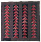 Wild Goose Chase Quilt, Maryland Ca 1870