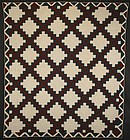 Irish Chain Quilt: Circa 1880; Virginia