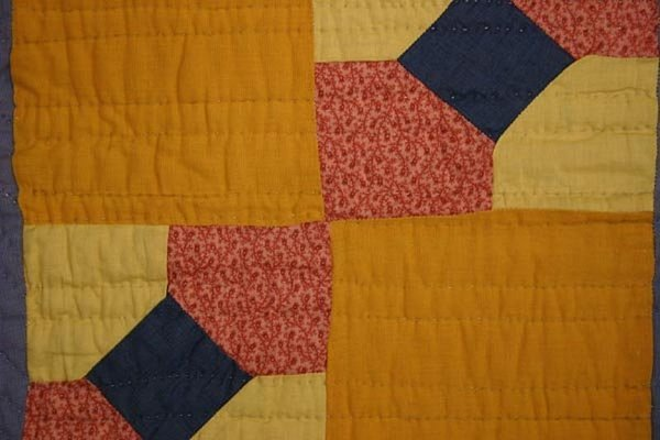 Bow Tie Quilt: Circa 1910