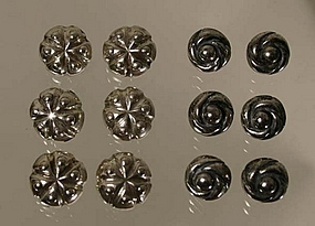 William Spratling Sterling Silver Buttons