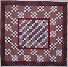 Patchwork Medallion Quilt; Maryland; Ca 1870