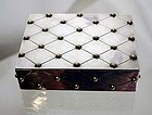 William Spratling Sterling Silver and Gold Box